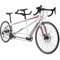 2016 Cannondale tandem white/red