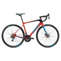 2018 Giant Defy Advanced 1 neon red